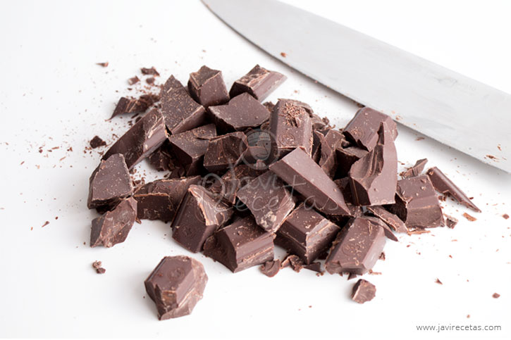 Trocear Chocolate para Derretir