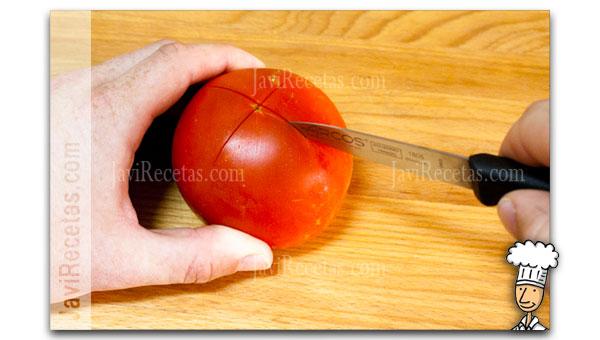 quitar semillas tomate