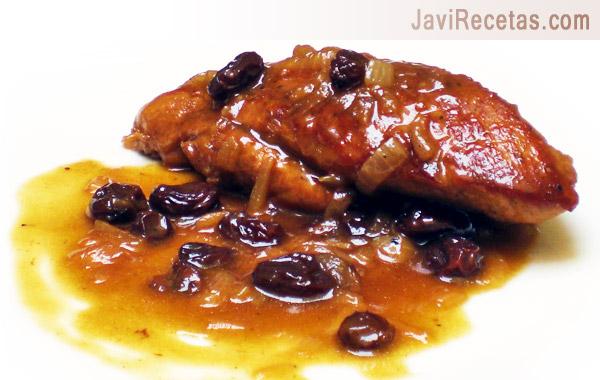 Solomillo de cerdo en salsa al pedro xim nez Solomillo iberico al horno