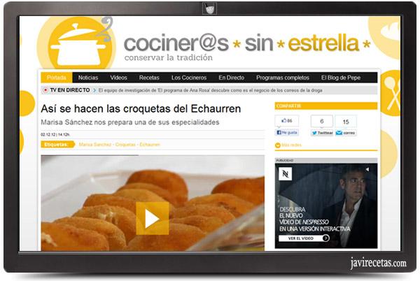 Vídeos de  Cocineros Sin Estrella