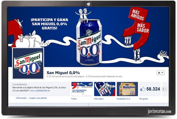 San Miguel 0,0% - Más Sabor
