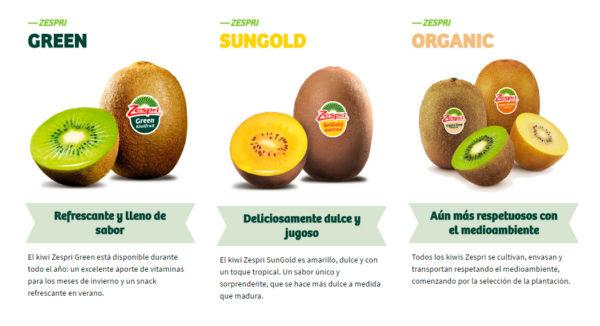 Kiwi Verde Amarillo Organic