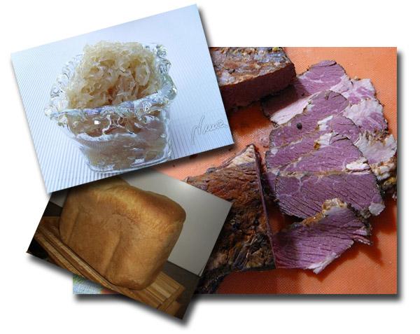Cabello de Angel, Masa Madre y Pastrami