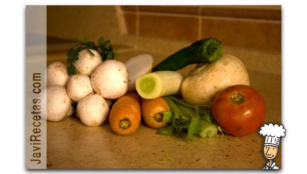 Verduras para el Caldo