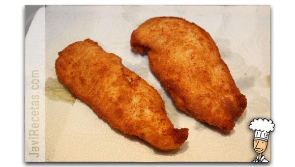 Pollo Empanado Frito