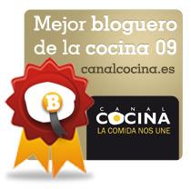 Mejor Bloguero Recetas 2009