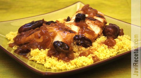 Pollo a la Miel con Dátiles y Cuscús