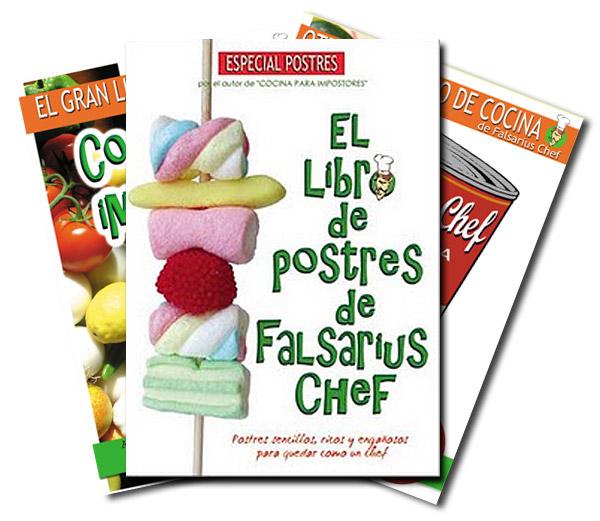 El libro de postres de Falsarius Chef