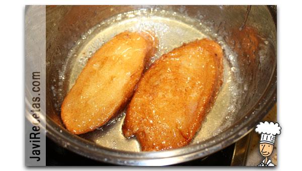 Como hacer torrijas de pan paso 6
