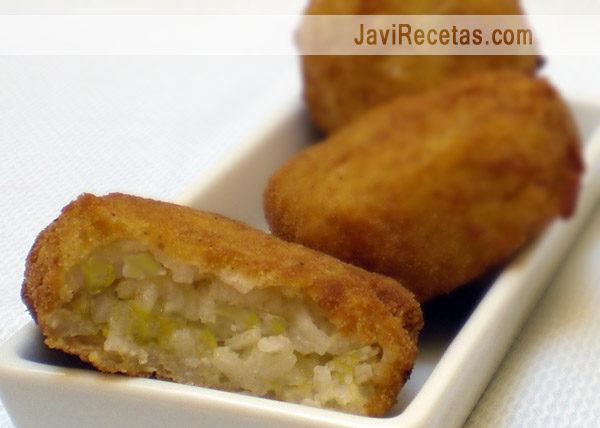 Bocaditos de Arroz a la Cubana Fritos