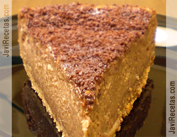 Tarta de Turrón de Chocolate