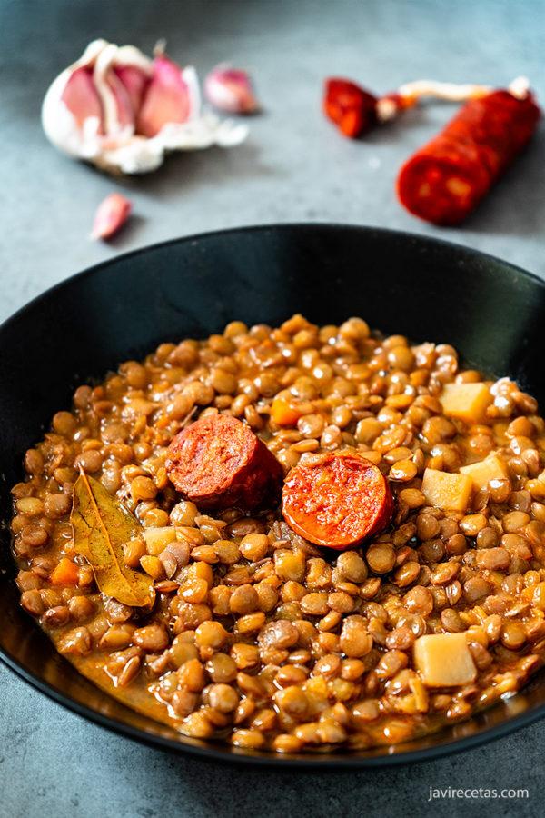 Potaje de Lentejas con Chorizo