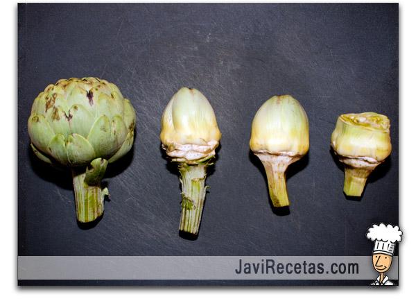 Como Pelar Alcachofas - Alcauciles