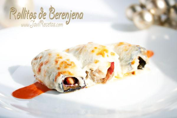Rollitos de Berenjena