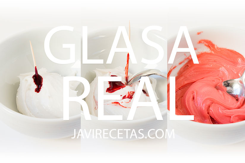 Glasa Real (Royal Icing) para Decorar Galletas