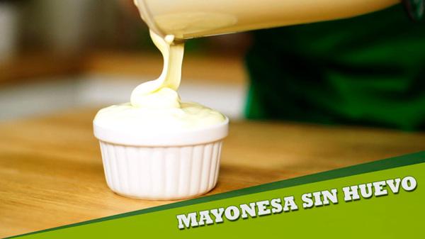 Cómo Hacer Mayonesa con Leche y sin Huevo