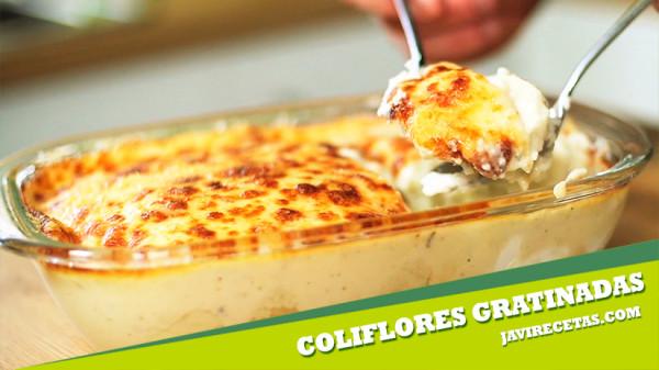 Recetas De Cocina Con Verduras | Coliflor Con Bechamel Javi Recetas