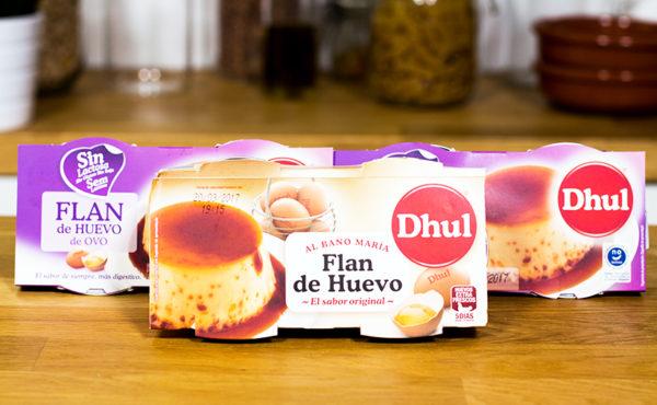 Flan de Huevo Dhul