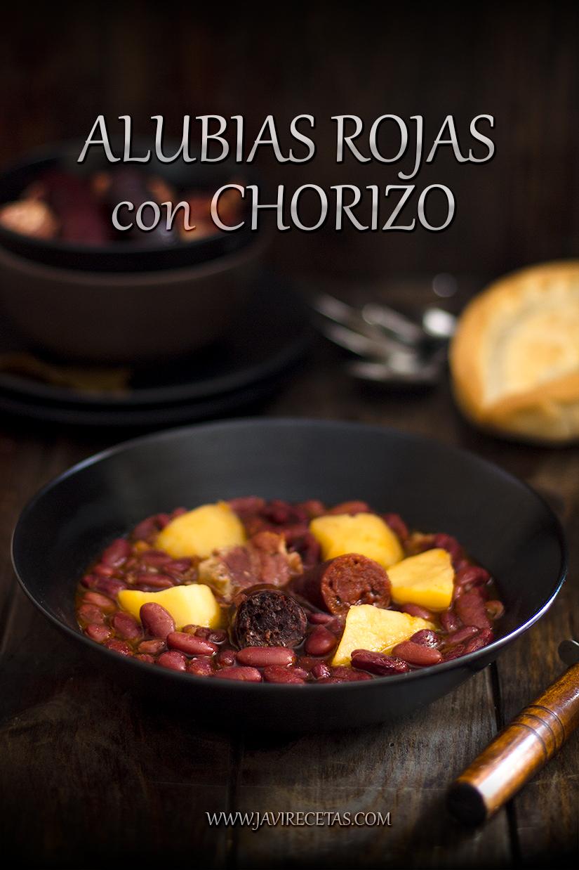 Receta de Alubias Rojas con Chorizo
