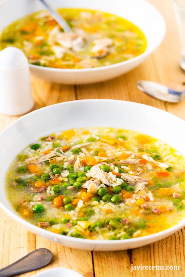 Sopa de Pollo – Receta de Sopa de Pollo