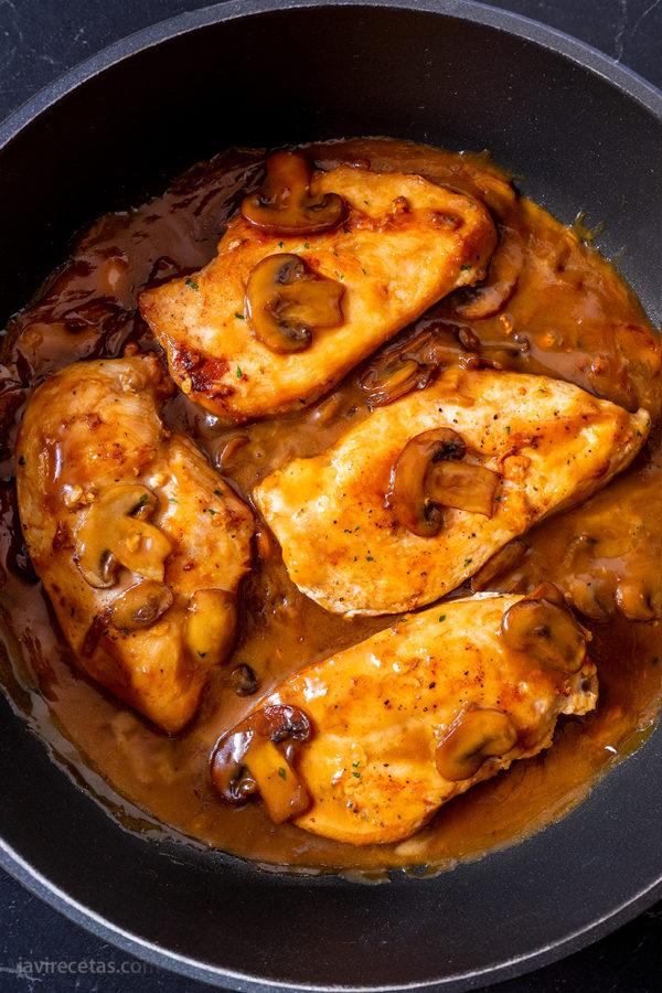 Pollo a la Crema Pedro Ximénez
